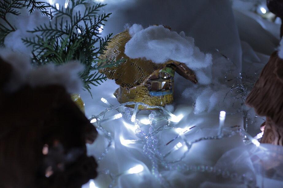 Домик в снегу
