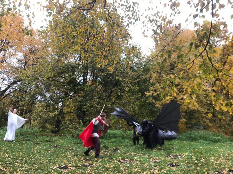 Сражение с драконом